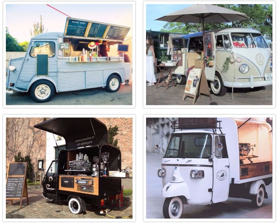 Foodtruck Collage