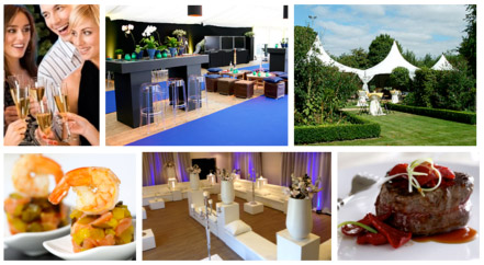 Partycatering collage