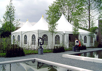 Luxe tenten accomodaties Belgie