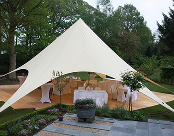 Luxe tenten accomodaties